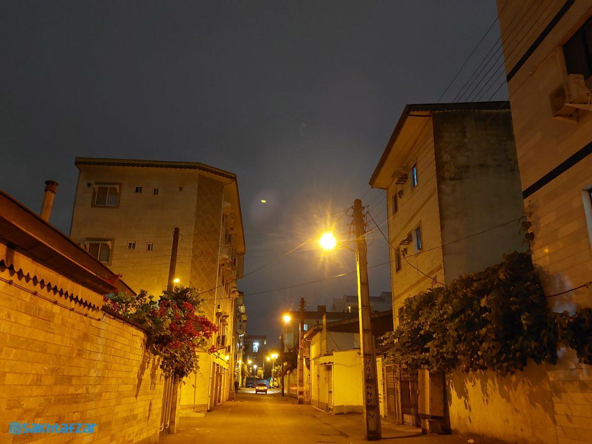 نمونه عکسهای ثبت شده در بررسی گلکسی A52 سامسونگ / Night