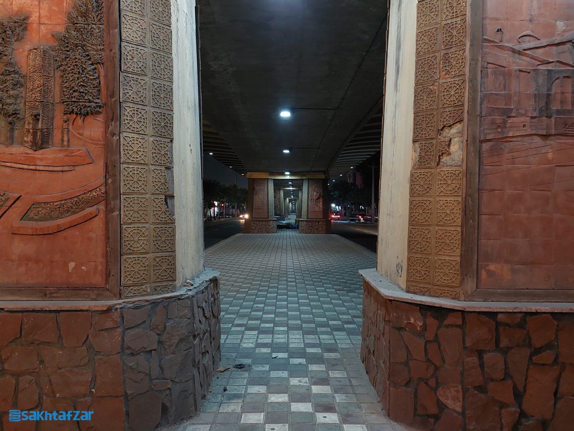 نمونه عکسهای ثبت شده در بررسی گلکسی A52 سامسونگ / Night 1x