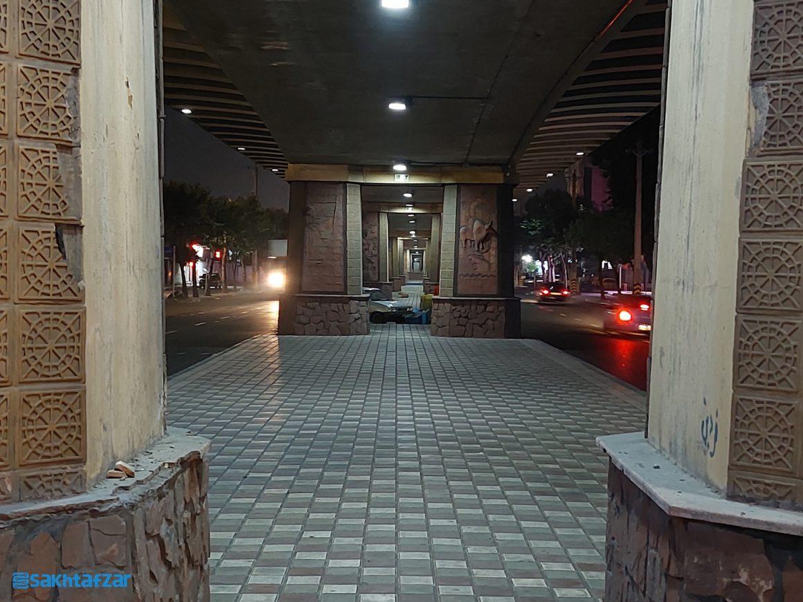 نمونه عکسهای ثبت شده در بررسی گلکسی A52 سامسونگ / Night 2x
