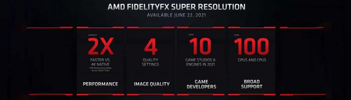فناوری FidelityFX Super Resolution