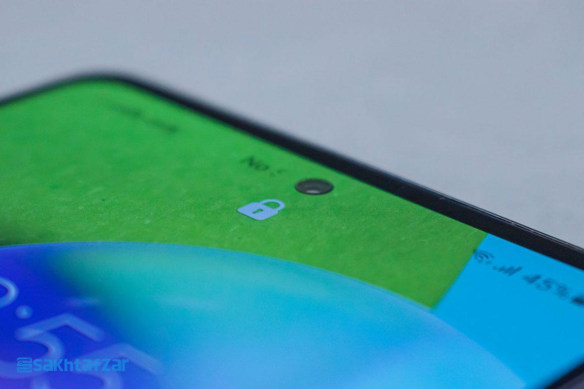 تشخیص چهره گوشی گلکسی A52 سامسونگ   Samsung Galaxy A52
