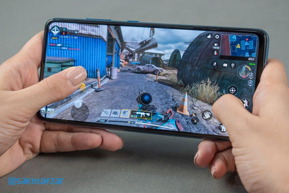 بازی کالاف دیوتی موبایل در گوشی گلکسی A52 سامسونگ   Samsung Galaxy A52