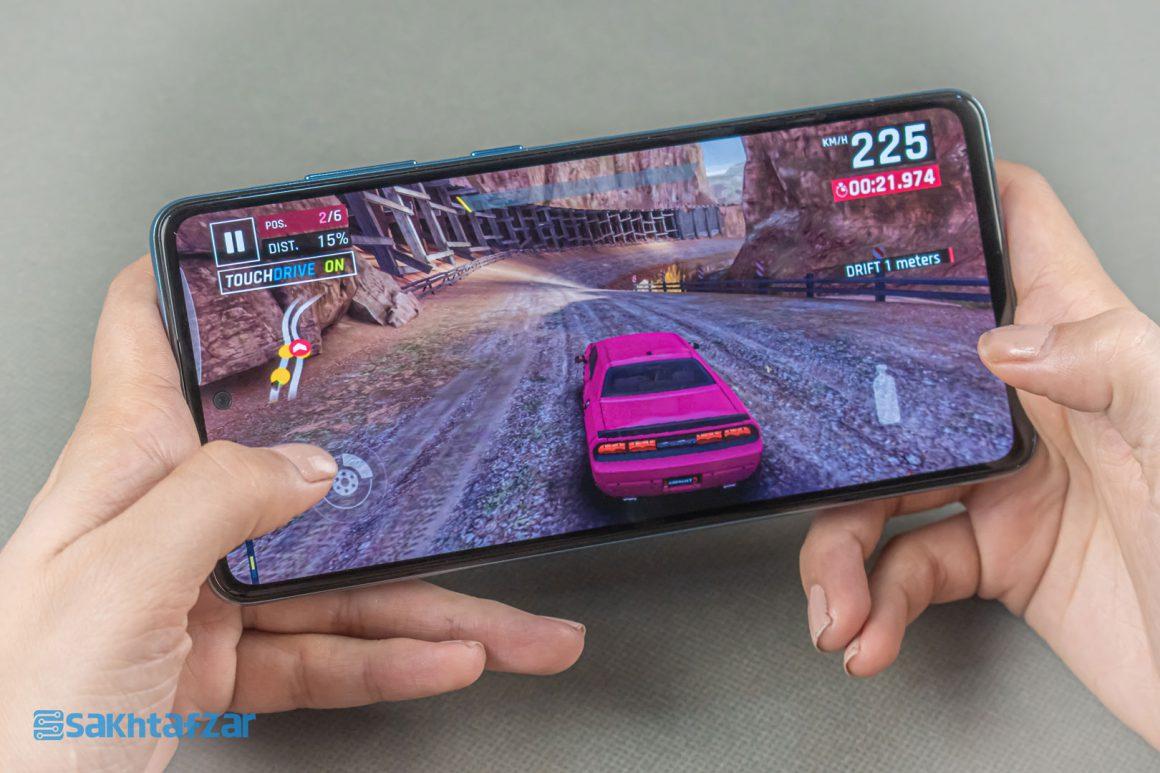 بازی آسفالت در گوشی گلکسی A52 سامسونگ   Samsung Galaxy A52