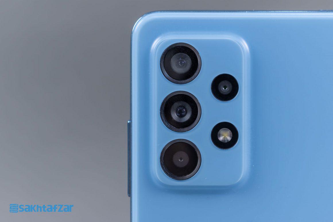 دوربین های گوشی گلکسی A52 سامسونگ   Samsung Galaxy A52