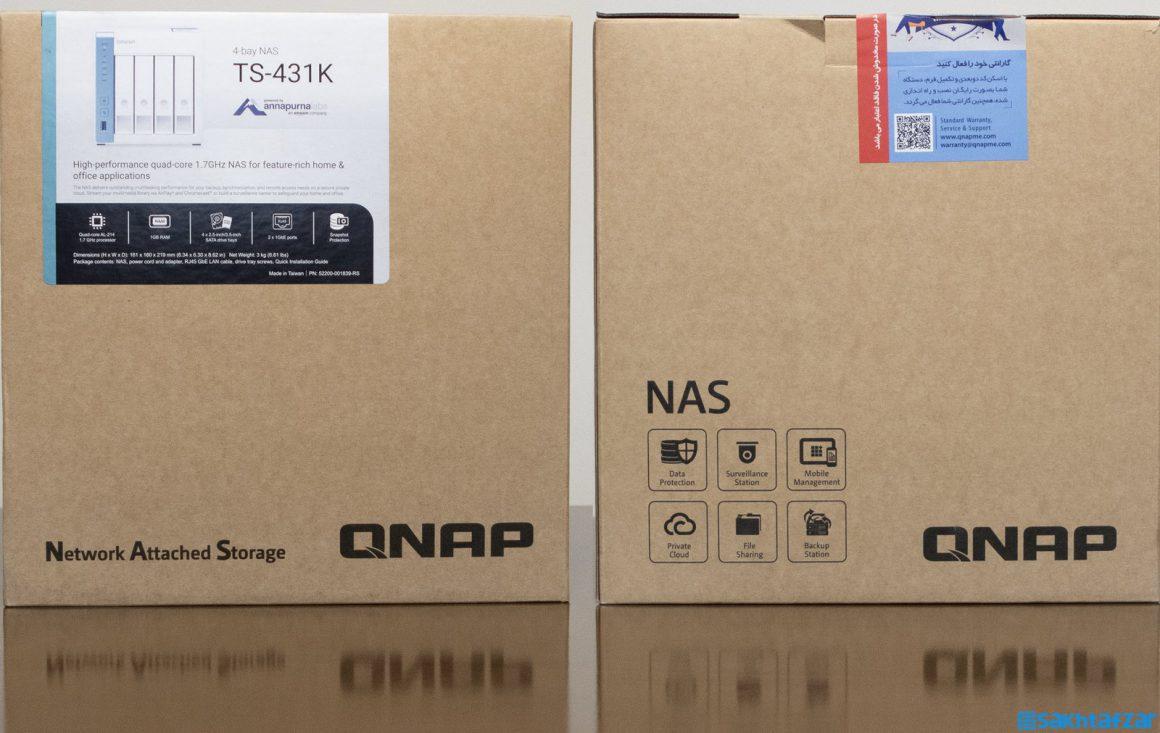 بررسی ذخیره ساز تحت شبکه کیونپ QNAP TS-431K