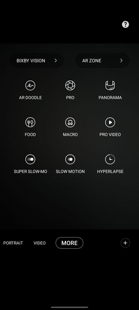 تنظیمات نرم افزار دوربین گوشی گلکسی A52 سامسونگ   Samsung Galaxy A52