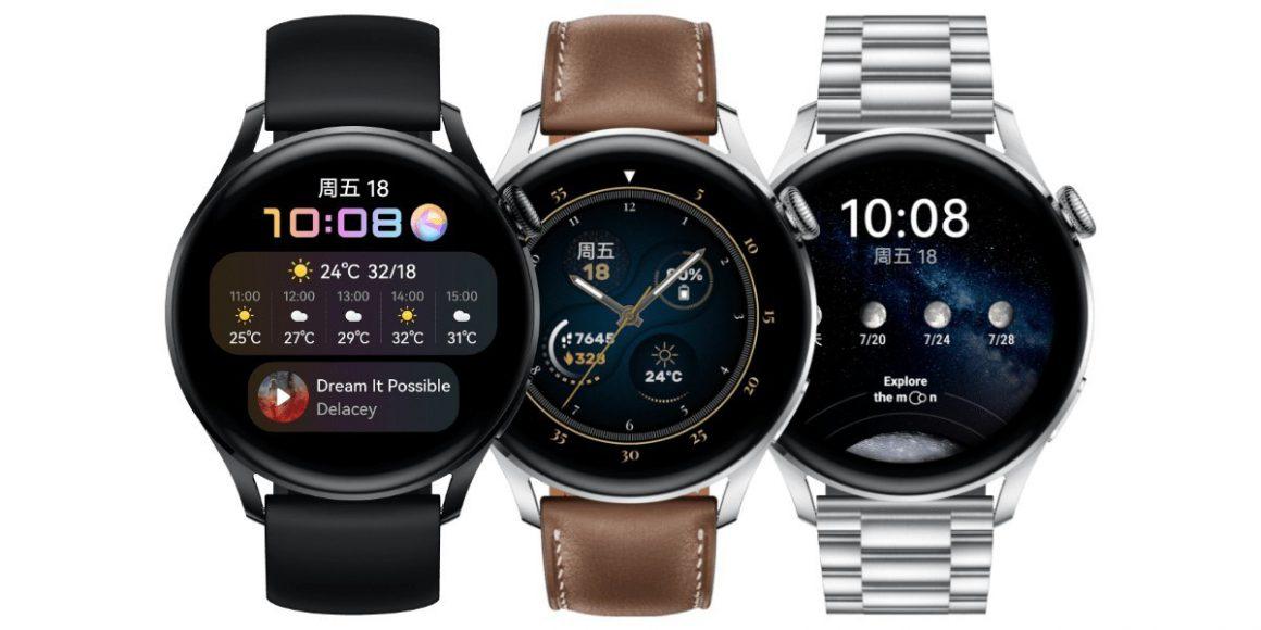 ساعت هوشمند Watch 3 هواوی با HarmonyOS