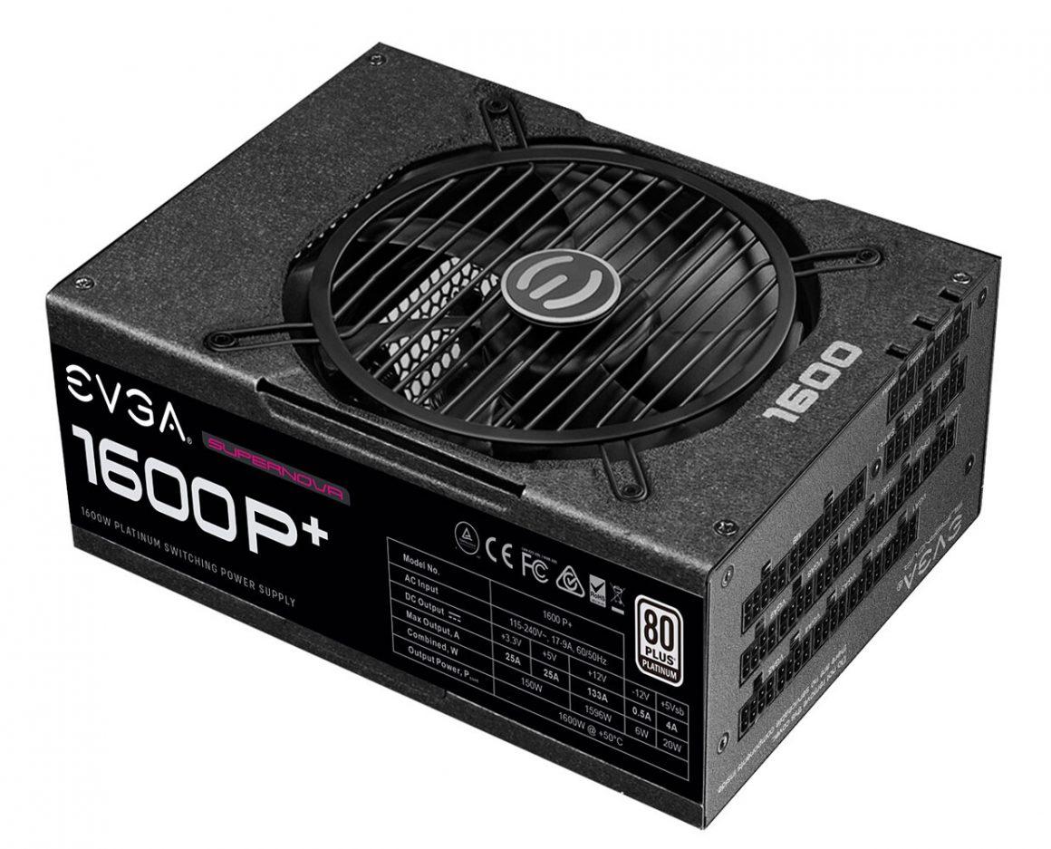 منبع تغذیه های SuperNOVA 1600 P+ و SuperNOVA 1300 P+ شرکت EVGA