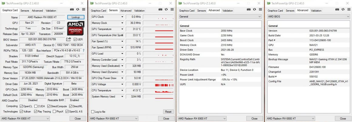 کارت گرافیک Radeon RX 6900 XT LC