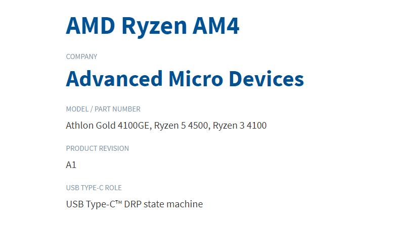 پردازنده های جدید Ryzen 4000 Zen 2 و Athlon Gold