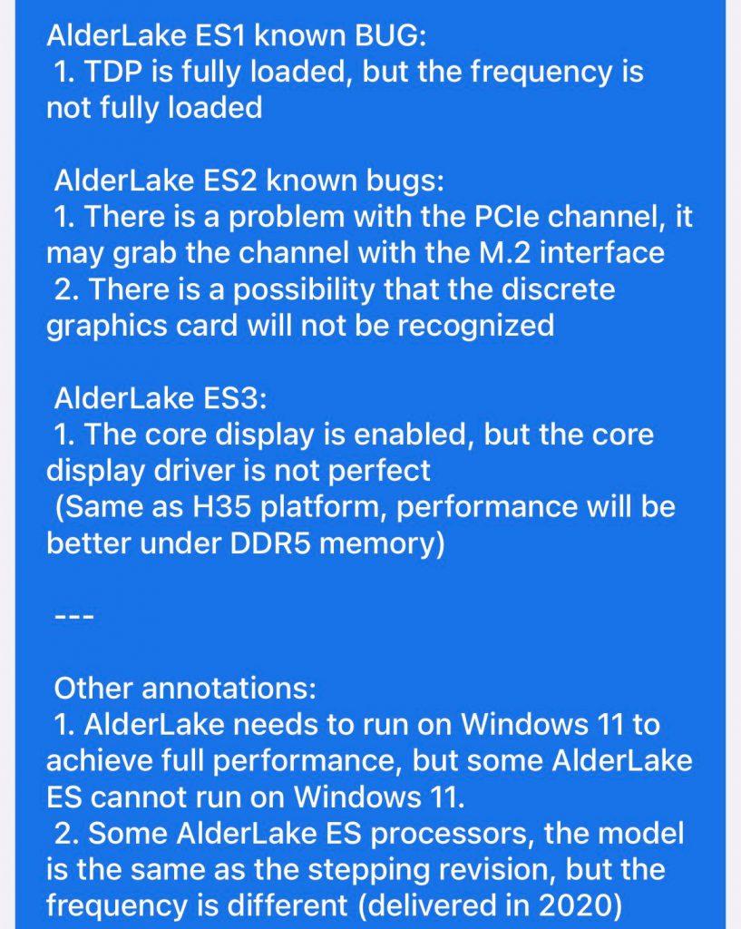 اطلاعات جدید از نمونه کیفی Core i9 12900K