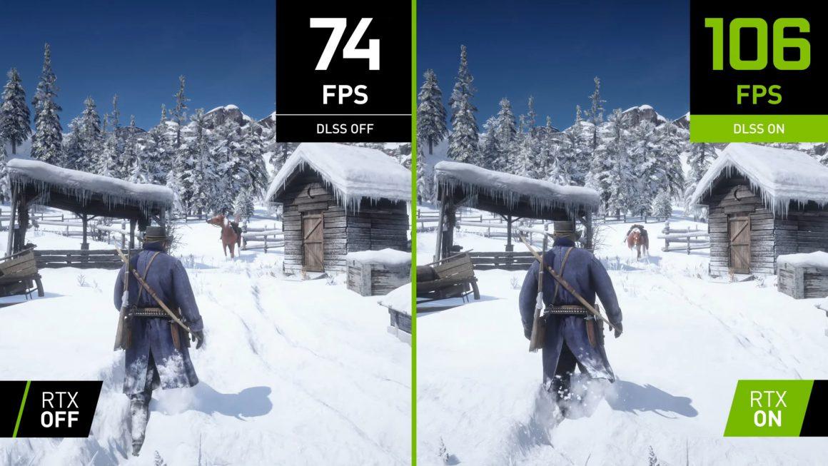 پشتیبانی از DLSS برای Red Dead Redemption 2