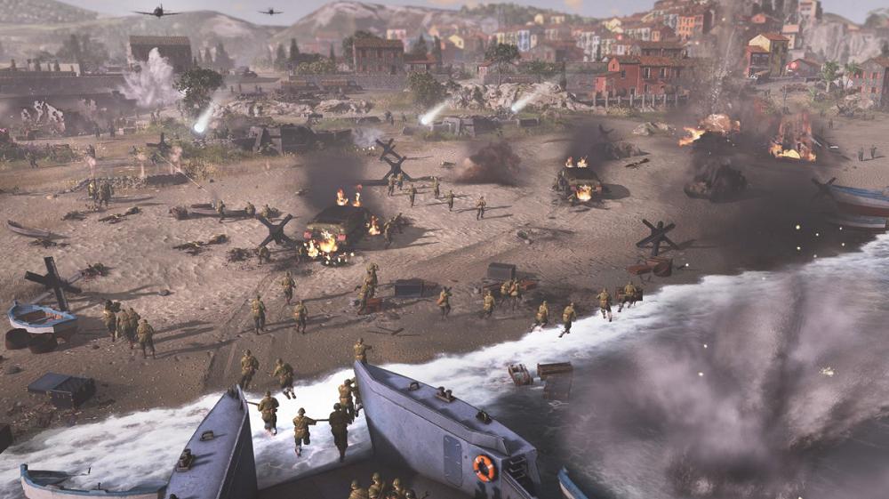 اولین اسکرین شاتهای بازی Company of Heroes 3 صحنه نبرد