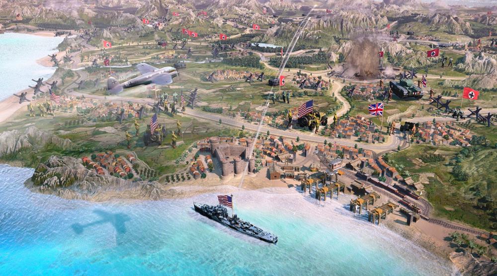 اولین اسکرین شاتهای بازی Company of Heroes 3