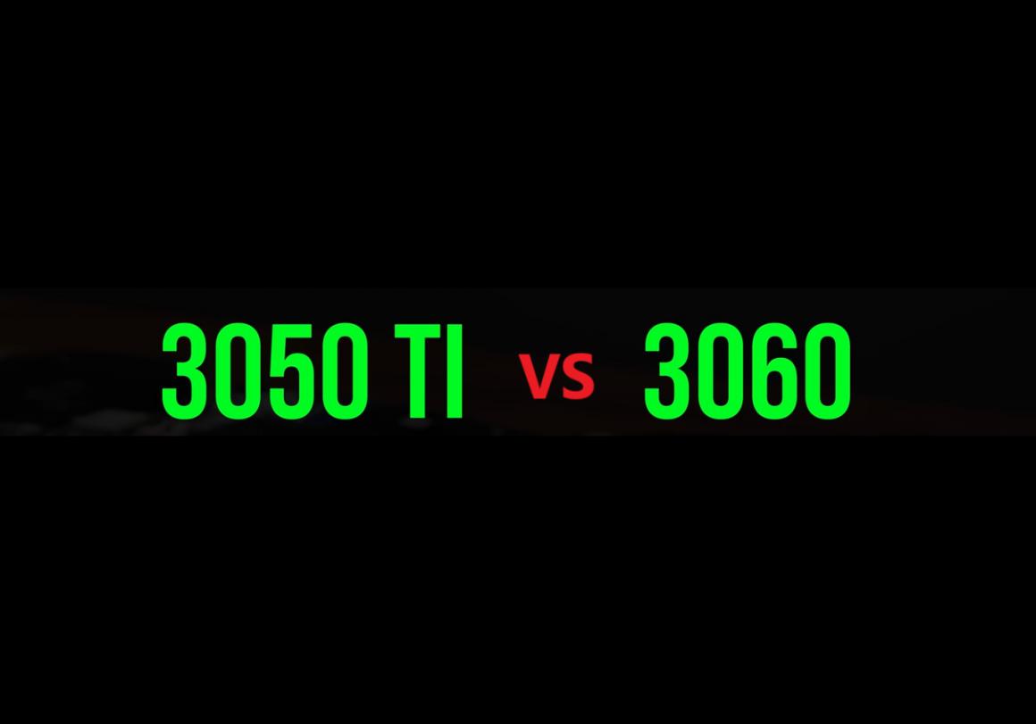 ارزش پایین گرافیک GeForce RTX 3050 Ti موبایل
