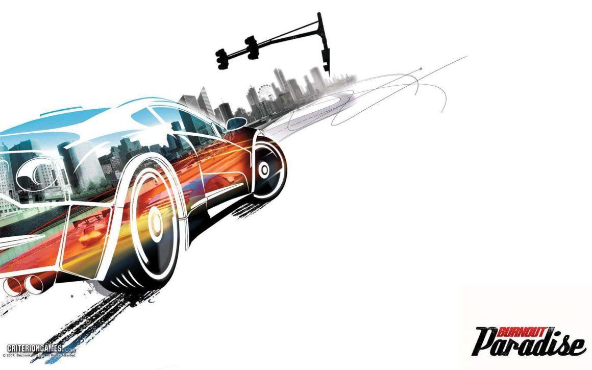 10 بازی برتر برای رایانه شخصی / لپ تاپ پایین رده - 4. سری Burnout Paradise