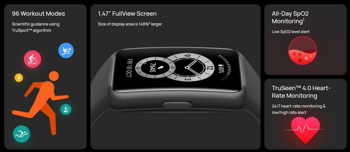 هواوی بند ۶ | Huawei band 6