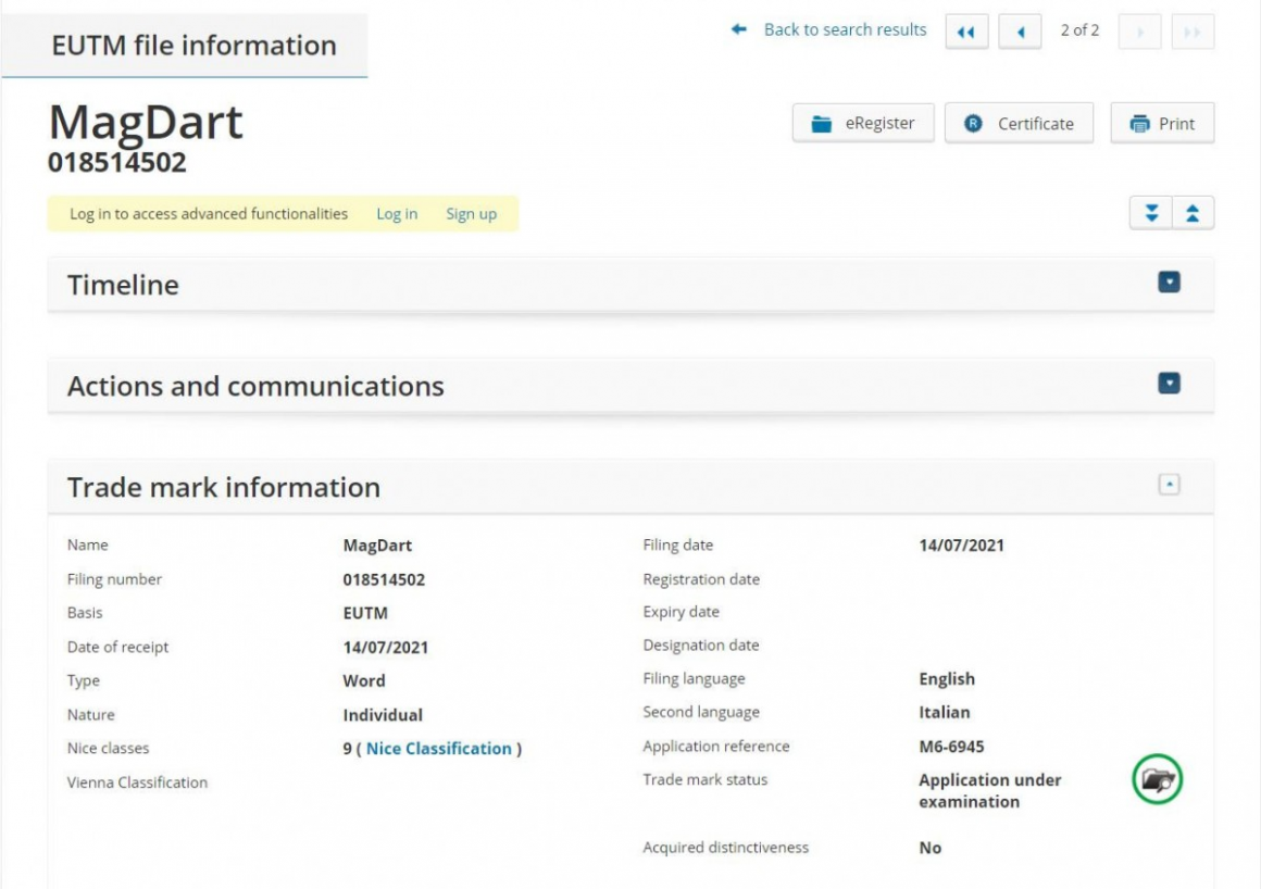 MagDart کمپانی ریلمی