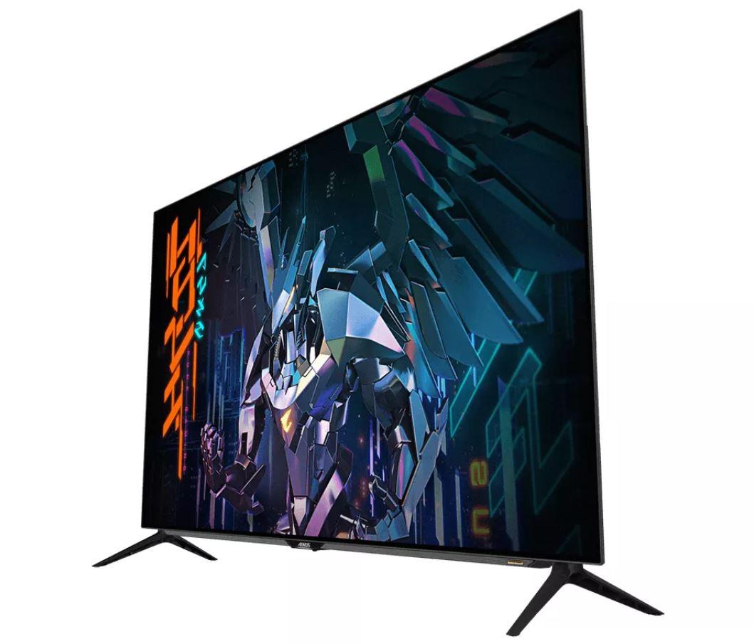 مانیتورهای جدید Aorus 4K گیگابایت با پورتهای HDMI 2.1 رونمایی شدند ۴
